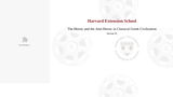 Harvard CLAS E-116: Lecture 1: Section #1  (video lecture)