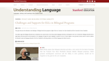 Challenges and Supports for ELLs in Bilingual Programs