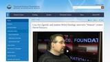 "Lisa-Joy Zgorski and student Helen Hastings interview ""Watson"" creator David Ferrucci."