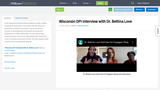 Wisconsin DPI Interview with Dr. Bettina Love