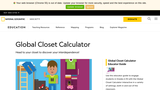 Global Closet by National Geographic Society