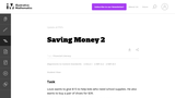 2.OA, NBT Saving Money 2