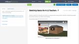 SketchUp Basics for K-12 Teachers - 7