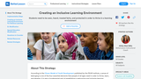 Creating an Inclusive Learning Environment