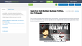 SketchUp Skill Builder: Multiple Profiles, One Follow Me