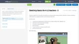 SketchUp Basics for K-12 teachers - 3