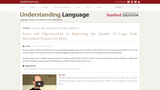 Issues and Opportunities in Improving the Quality of Large Scale Assessment Systems for ELLs