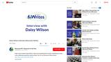 Daisy Wilson Interview (Wisconsin Writes)