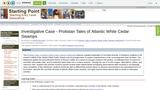 Investigative Case - Protistan Tales of Atlantic White Cedar Swamps