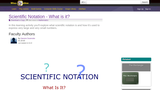 Scientific Notation - What is it?