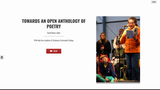 Towards an Open Anthology of Poetry