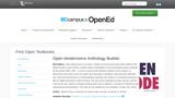 Open Modernisms Anthology Builder