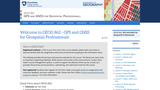 GPS and GNSS for Geospatial Professionals