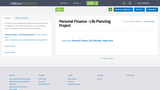 Personal Finance - Life Planning Project