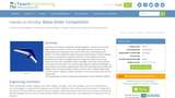 Balsa Glider Competition