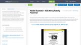 Adobe Illustrator - Kids Menu/Activity Placemat