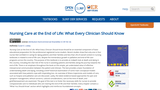 Nursing Care at the End of Life: What Every Clinician Should Know