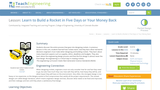 Learn to Build a Rocket in 5 Days or Your Money Back