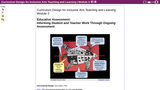 Curriculum Design for Inclusive Arts Teaching and Learning (Part 3): Educative Assessment