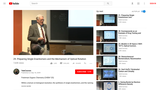 Yale CHEM 125: Lecture 29 -  Preparing Single Enantiomers and the Mechanism of Optical Rotation (Video & Lecture Notes)