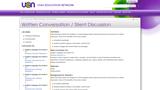 Written Conversation / Silent Discussion