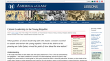 Citizen Leadership in the Young Republic: The Father–Son Letters of John Adams and John Quincy Adams, 1774–1793