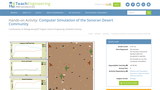 Computer Simulation of the Sonoran Desert Community