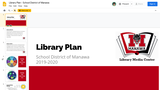 2019-20 Library Plan:  School District of Manawa