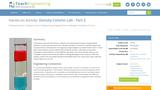 Density Column Lab - Part 2