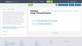 Earning A Living - Personal Finance