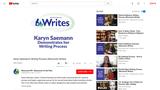 Karyn Saemann's Writing Process (Wisconsin Writes)