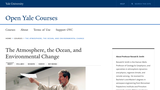 The Atmosphere, the Ocean, and Environmental Change