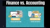 Accounting vs. Finance