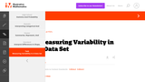 S-ID Measuring Variability in a Data Set