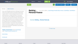 Banking - Personal Finance