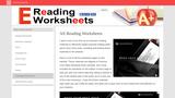 E reading Worksheets