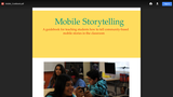 Mobile Cookbook: Students creating mobile, community-based stories