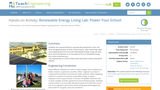 Renewable Energy Living Lab: Power Your School