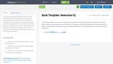 Book Template- Newcomer EL
