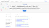 Applied Digital Skills: Create a Presentation