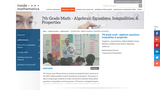 Algebraic Equations, Inequalities, and Properties