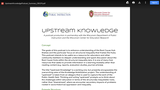 Upstream Knowledge Podcast: Equity (Episode #1) placeholder
