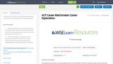 ACP Career Matchmaker Career Exploration