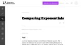 Comparing Exponentials