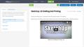 SketchUp: 2D Drafting And Printing