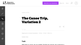 The Canoe Trip, Variation 2