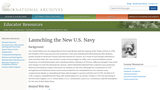 Launching the New U.S. Navy