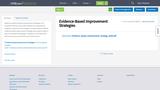 *Evidence-Based Improvement Strategies Presentation/Guide