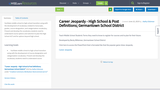 Career Jeopardy - High School & Post Definitions; Germantown School District