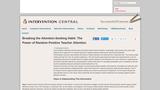 Breaking the Attention-Seeking Habit: The Power of Random Positive Teacher Attention